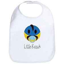 Ukrainian Little Kozak Baby Boy Bib Gift