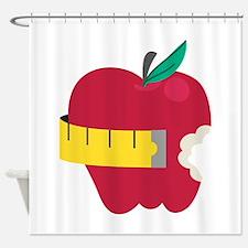 Diet Apple Shower Curtain