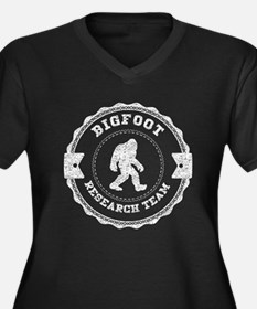 Bigfoot Research Team (Distressed) Plus Size T-Shi