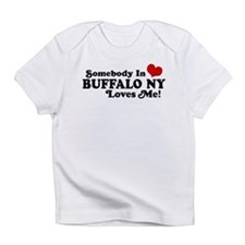 Cute Somebody in buffalo loves me Infant T-Shirt