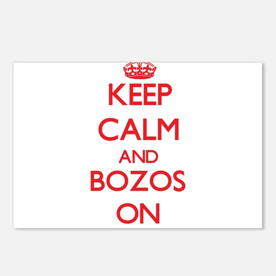 Keep Calm and Bozos ON Postcards (Package of 8)