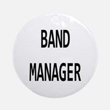 Manager Round Ornament