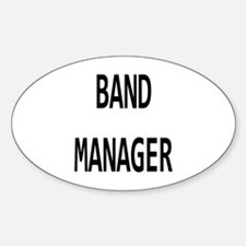 Manager Sticker (Oval)
