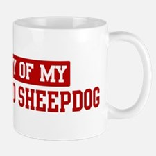 Property of Bergamasco Sheepd Small Small Mug