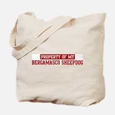 Property of Bergamasco Sheepd Tote Bag