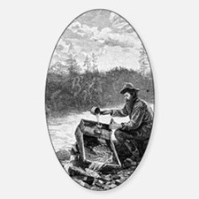 Unique Old west Sticker (Oval)
