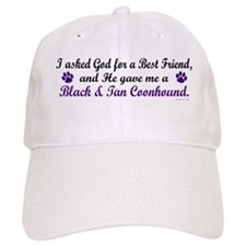 God Gave Me A Coonhound (BT) Baseball Cap