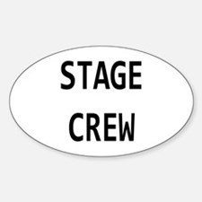 Crew Sticker (Oval)