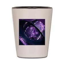 Cute Fibromyalgia Shot Glass