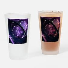 Unique Fibromyalgia Drinking Glass