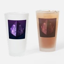 Cool M.e awareness Drinking Glass