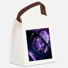 Unique Lupus Canvas Lunch Bag