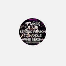 Unique Fibromyalgia awareness Mini Button