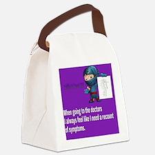 M.e awareness Canvas Lunch Bag