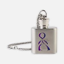 Unique Invisible Flask Necklace