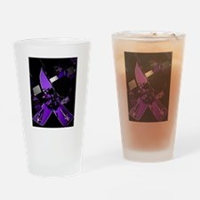 Unique Purple awareness Drinking Glass