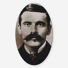 famous western people Sticker (Oval)