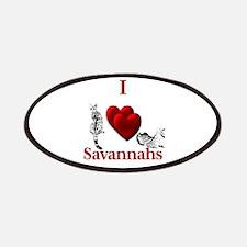 I Heart Savannahs Patch