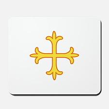 Ornate Cross Mousepad
