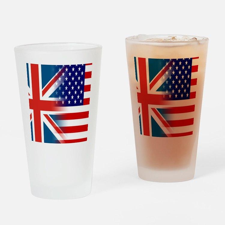 USA/UK Drinking Glass