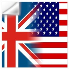 USA/UK Wall Decal