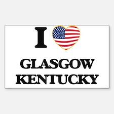 I love Glasgow Kentucky Decal