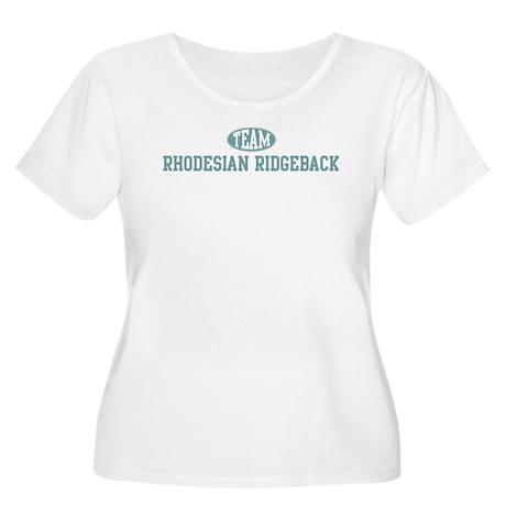Team Rhodesian Ridgeback Women's Plus Size Scoop N