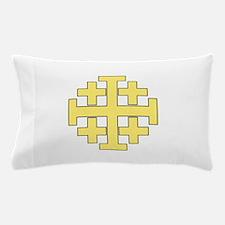 Jerusalem Cross Pillow Case