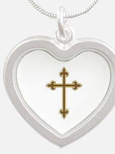 Ornamental Cross Necklaces