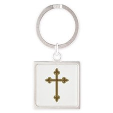 Ornamental Cross Keychains