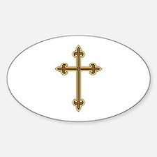 Ornamental Cross Decal