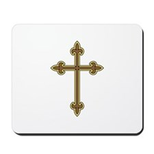 Ornamental Cross Mousepad
