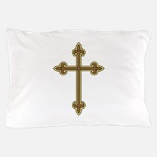 Ornamental Cross Pillow Case