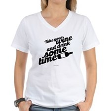 Take Time Drink Wine T-Shirt