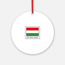 Hungary Ornament (Round)