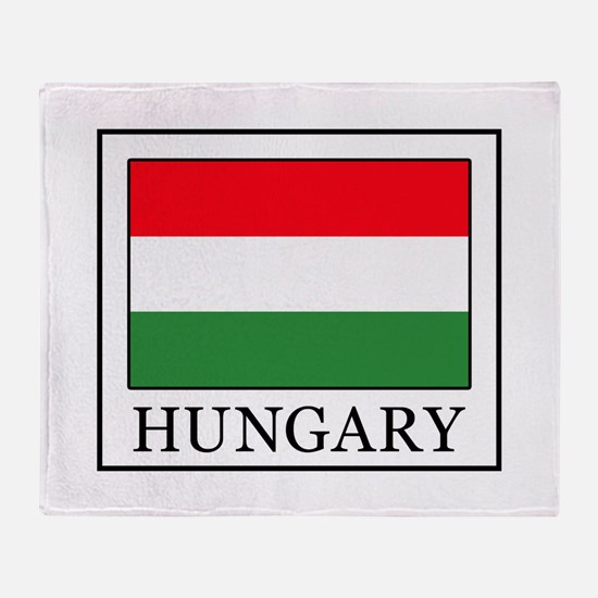 Hungary Throw Blanket