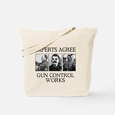 Gun Control Experts, Tote Bag