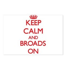 Keep Calm and Broads ON Postcards (Package of 8)