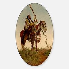 native americans Sticker (Oval)