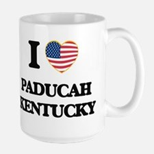 I love Paducah Kentucky Mugs