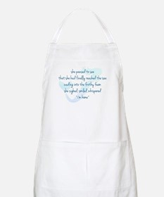 Mermaid Watercolor Apron