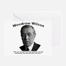 Wilson: Act Greeting Card