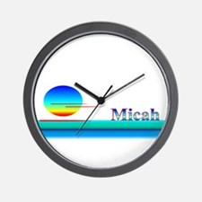 Micah Wall Clock