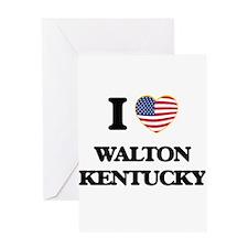 I love Walton Kentucky Greeting Cards