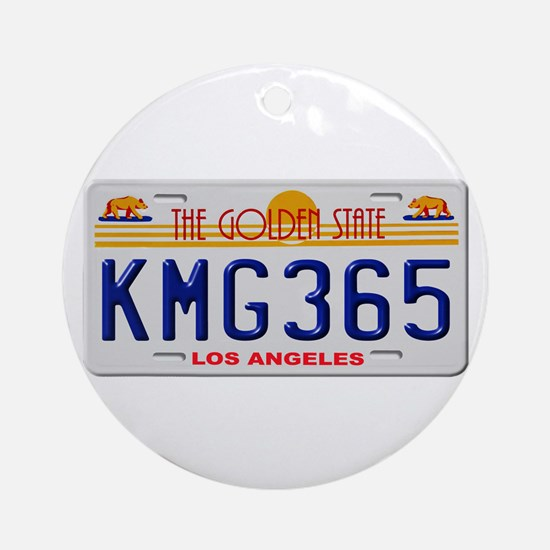 KMG365 Los Angeles Ornament (Round)