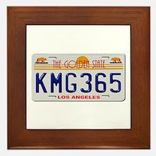 KMG365 Los Angeles Framed Tile