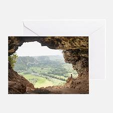 Cueva Ventana Greeting Card