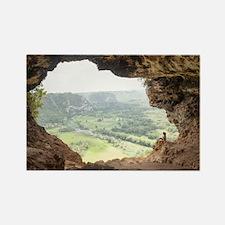 Cueva Ventana Rectangle Magnet
