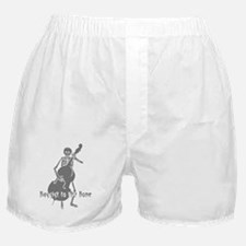 Bassist To The Bone Boxer Shorts