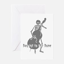 Bassist To The Bone Greeting Cards (Pk of 10)